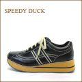 SPEEDY DUCK  スピーディ―ダック sd6880bl  ブラック 【ずっと 履いていたい・・軽量・楽らく FITの・・ 厚底スニーカー】