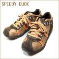 SPEEDY DUCK スピーディ―ダック 7270 ブラウン【履き心地のいいシッカリしたソール】