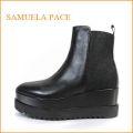 SAMUELA PACE sp3080bl  ブラック 【人気上昇中!イタリア製プラットフォーム・・SAMUELA PACE・・足を包む最高の履き心地】【レディース】