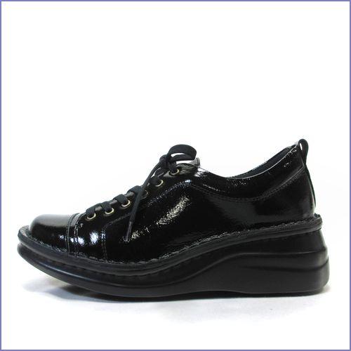 エ—オーケー  aok靴 ak84801bl  ブラック  【スニーカー感覚で・・スニーカー以上。。おしゃれなルックス・・・aok  足に心地いいソフトエナメル】
