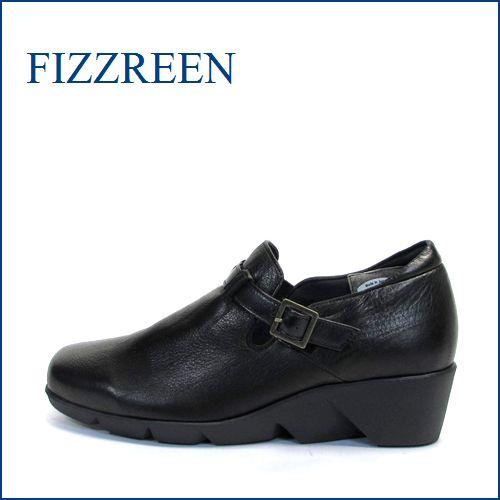fizzreen  フィズリーン  fr1691bl  ブラック 【外反母趾にやさしい履き心地・・・独自設計の 極・軽量・・ fizzreen・すっぽりスリッポン】