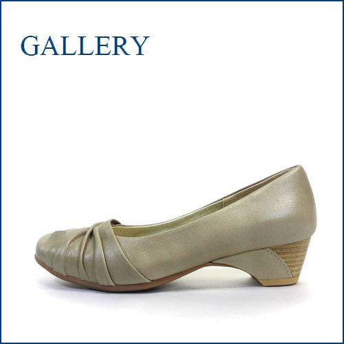 gallery  ギャラリー  ga9707bg  ベージュ 【きちんと履ける柔らか仕立て・・楽にFITする クッション構造・・  gallery・シンプルパンプス】
