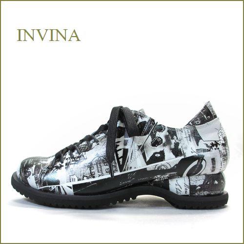 invina インビナ  iv2217blp  ブラックP 【お洒落な限定素材で行こう!リラックスできるクッション ソール・・INVINA スポッ..と履けるマニッシュ】