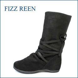 fizzreen フィズリーン ショートブーツ fr3010bl ブラック