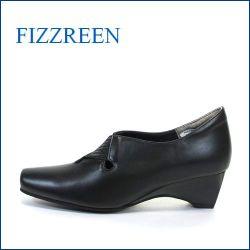 fizz reen  フィズリーン  fr7356bl ブラック 【スポッ・・と履ける・キレイなシルエット・・フィズリーン 楽々・・伸びる横巾】