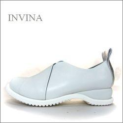 invina インビナ  iv2219wt  ホワイト 【可愛い大きめプルバック・・新鮮・新感覚のアウトソール。INVINA マニッシュなスリッポン】