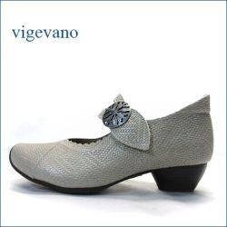 vigevano  ビジェバノ vg7004sa サンド 【靴職人手作りの1足・・優しく包む感じ・・ vigevano ベルトパンプス】