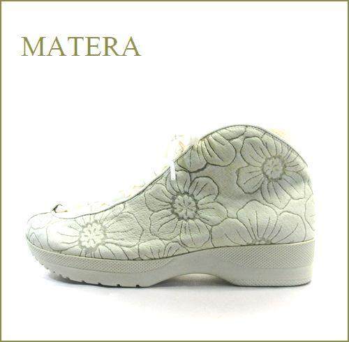 matera マテーラ ma550wt  ホワイト  【ソックスよりも履きやすい・・・ 後染めレザーの・・マテ—ラ 楽らくアンクル】
