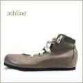 ashline アシュライン as66cgy グレイ 【女子のあこがれ・・すぽっと履ける 巾広4E ashline 履きやすいゴムゴム バレリーナ】