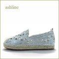 ashline  アシュライン  as7111wt  ホワイト 【上品おしゃれな・・ししゅう&ダイヤグラムカット。。 ashline フィットするエスパドリュー】