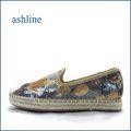 ashline  アシュライン  as7112go  ゴールド 【新鮮おしゃれ素材・・お花模様のスパンコール。。 ashline フィットするエスパドリュー】