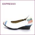 espresso  エスプレッソ  ep25661wt  ホワイト 【ぴったり足を包む・・楽らくソフトレザー・・espresso すっきり 4E・ウェッジソール】