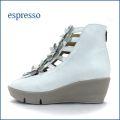 espresso エスプレッソ ep475iv アイボリー 【可愛いお花満開!安心ふわふわクッション。。エスプレッソ・・ ブーツ サンダル】