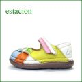 estacion  エスタシオン靴  et202iv IVマルチ 【ワクワク元気。。エスタシオン靴・・・・カラフル・・可愛い!花花・万華鏡・ ワンベルト】