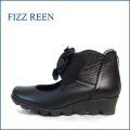 fizzreen  フィズリーン  fr1258bl  ブラック 【玄関に咲いている・・かわいいお花・・fizzreen  ワクワク気分でおでかけしましょ。。】