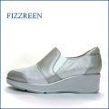 fizzreen  フィズリーン fr1710bg  ベージュシルバー 【人気のプラットフォームソール・・ふわふわ2重のクッション。。fizzreen スリッポン】