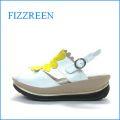 fizzreen  フィズリーン fr1733wt  ホワイト 【新感覚!つつむ感じ・・ときめきハートのインソール・・fizzreen ・厚底サンダル】