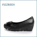 fizz reen フィズリーン fr1751bl ブラック 【軽くなって登場・・・新型ソール・・FIZZREEN・・かわいいリボンパンプス】
