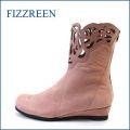 FIZZ REEN  フィズリーン  fr2801pk ピンク 【可愛さ 満点。。。新鮮・上品 おしゃれな・・・ fizzreen パンチドゥ・フラワー・ブーツ】