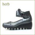 HERB  ハーブ hb3355et  エタン 【かわいいリボンの付いた HERB靴 なみなみのソールのネックベルト】