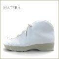 matera  マテーラ  ma553wt  ホワイト  【足を痛めない親切な作り。。ソックスみたい履きやすい matera  はじめから楽々レースアップ 】