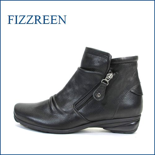 fizz reen フィズリーン fr2555bl ブラック 【どんどん歩ける快適ソール・・柔らかFITの・・fizz reen すっきりアンクル】