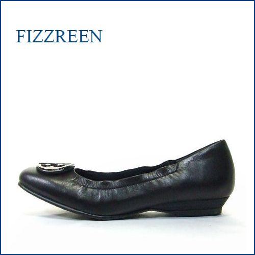 FIZZ REEN  フィズリーン fr300bl  ブラック 【カカトがしっかりフィットするフィズリーンの足に吸いつく履き心地】