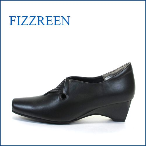 フィズリーン fizz reen fr7356bl ブラック 【スポッ・・と履ける・キレイなシルエット・・フィズリーン 楽々・・伸びる横巾】