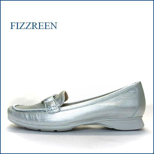 fizzreen フィズリーン fr9801sl シルバー 【フィットする厚めのクッション・・走れる程履きやすい。。fizzreen ビットローファー】