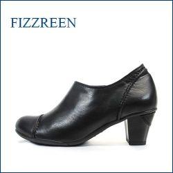 FIZZ REEN  フィズリーン fr270bl  ブラック 【極上・柔らか仕立て・・おしゃれなラウンドトゥ・・ fizzreen アンクルブーティ—】