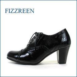 fizzreen  フィズリーン  fr3027bl  ブラック  【主役になれるソフトエナメル・・注目クラシカルな・・fizzreen・ レースアップ】