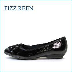 FIZZ REEN  フィズリーン fr313bl  ブラック 【可愛いペラペラリボン・・バツグンのクッション・・フィズリーン 快適仕立て】