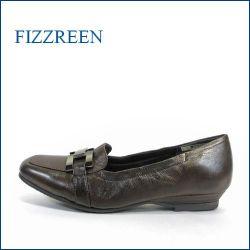 fizzreen フィズリーン fr337dn  ダークブラウン 【スポッ と履けて・・ゴムゴムFIT・・足裏リラックスの・・・FIZZREEN・・ローファースリッポン】