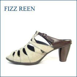FIZZ REEN フィズリーン fr7502gy グレイ 【すっぽり足を包み込む履き心地・・FIZZREEN おしゃれなミュールサンダル】