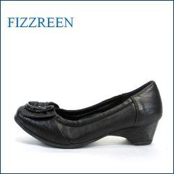 fizz reen  フィズリーン  fr9750bl  ブラック 【クッションでFIT・・ゴムでもっとFIT・・優しく包む・・FIZZ REEN  上品パンプス】