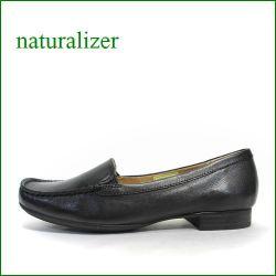 ナチュラライザー靴  naturalizer靴  na422bl ブラック 【足裏に優しいクッション・・よく馴染む柔らかレザー・・naturalizer靴 シンプルスリッポン】