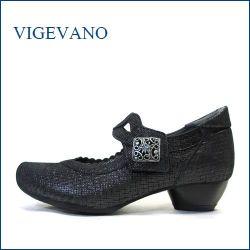 ビジェバノ vigevano  vg7026blm ブラックM 【靴職人手作りの1足・・優しく包む感じ・・ vige vano ベルトパンプス】
