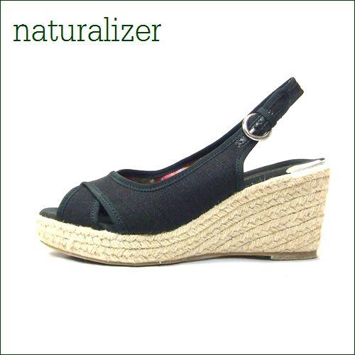 naturalizer  ナチュラライザー n274bl-sistine ブラック 【通気性の良いさわやかな履き心地のNATURALIZERサンダル】