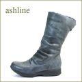 ashline アシュライン as36380gy グレイ 【あたたか リアルムートン・柔らかラムレザー・ashline・・ほっとする履き心地】