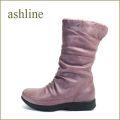 ashline アシュライン as36380ra ラベンダ 【あたたか リアルムートン・柔らかラムレザー・ashline・・ほっとする履き心地】