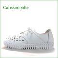 Carissimo alte カリシモアルテ  cs90194wt ホワイト 【可愛い底まわり・・包む感じでドンドン歩こう*carissimo alte クニュッ。と曲がるスリッポン】