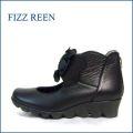 fizzreen フィズリーン fr1258bl ブラック 【玄関に咲いているかわいいお花・・fizzreen ウキウキ気分でおでかけしましょ。】