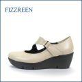 fizz reen フィズリーン fr3781ok ライトオ―ク 【ぷっくりかわいい New 厚底ソール・・FIZZREEN・楽々・ストラップパンプス】