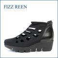 fizz reen フィズリーン fr5059bl ブラック 【ロングセラーになるほど・・安心な履き心地・・サラサラ・ストレッチの 人気ショート】
