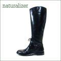 naturalizer  ナチュラライザー n365bl-classic ブラック 【メンズっぽく履きこなせるクラッシックタイプのロングブーツ】