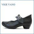 ビジェバノ vige vano  vg7004bl ブラック 【靴職人手作りの1足・・優しく包む感じ・・ vige vano ベルトパンプス】