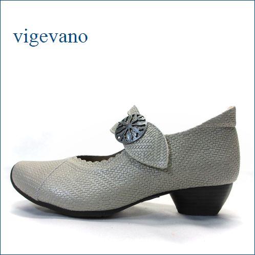 ビジェバノ vigevano  vg7004sa サンド 【靴職人手作りの1足・・優しく包む感じ・・ vige vano ベルトパンプス】