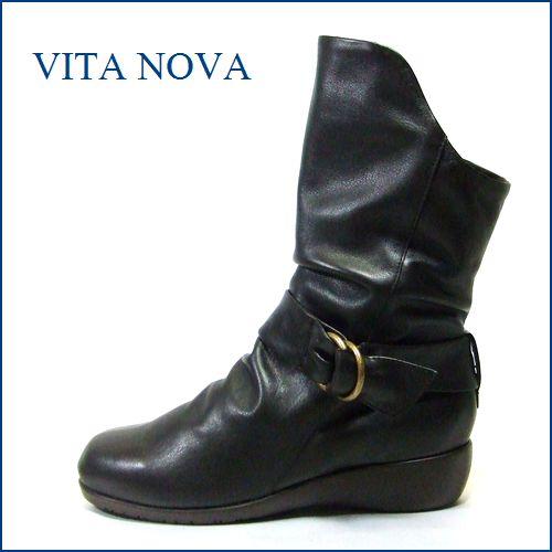 VITA NOVA  ビタノバ vt6534dn  ダークブラウン 【しっとり高級やわらかレザーのワンクラス上の履き心地】