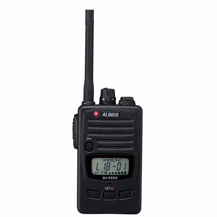 【DJ-P222】 特定小電力トランシーバー(交互通話・中継器対応)