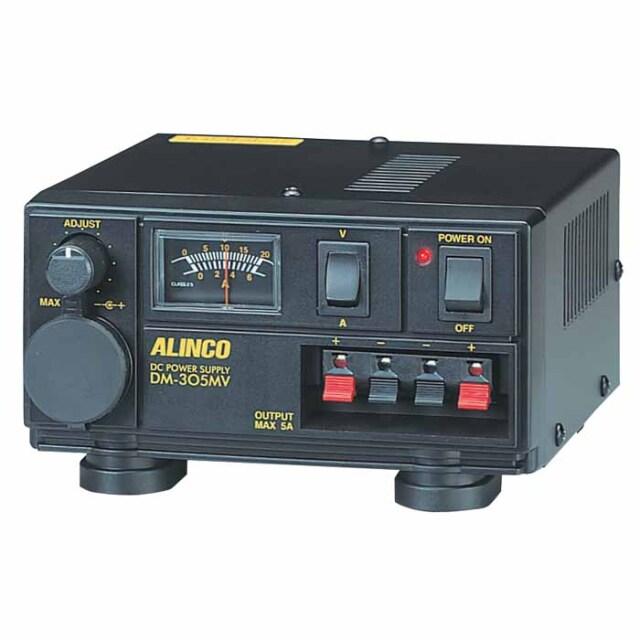 【DM-305MV】 安定化電源 MAX5A AC100V→DC12V (1~15V可変)